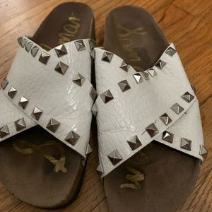 Sam Edelman slides with studs